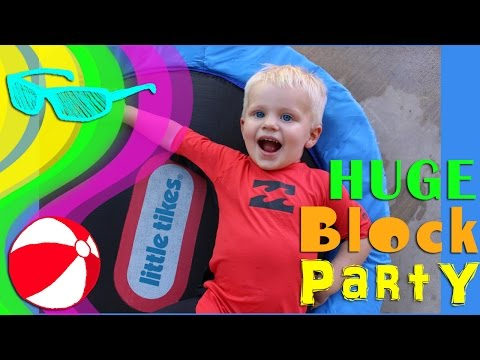 LITTLE TIKES BEST-EVER BLOCK PARTY!!