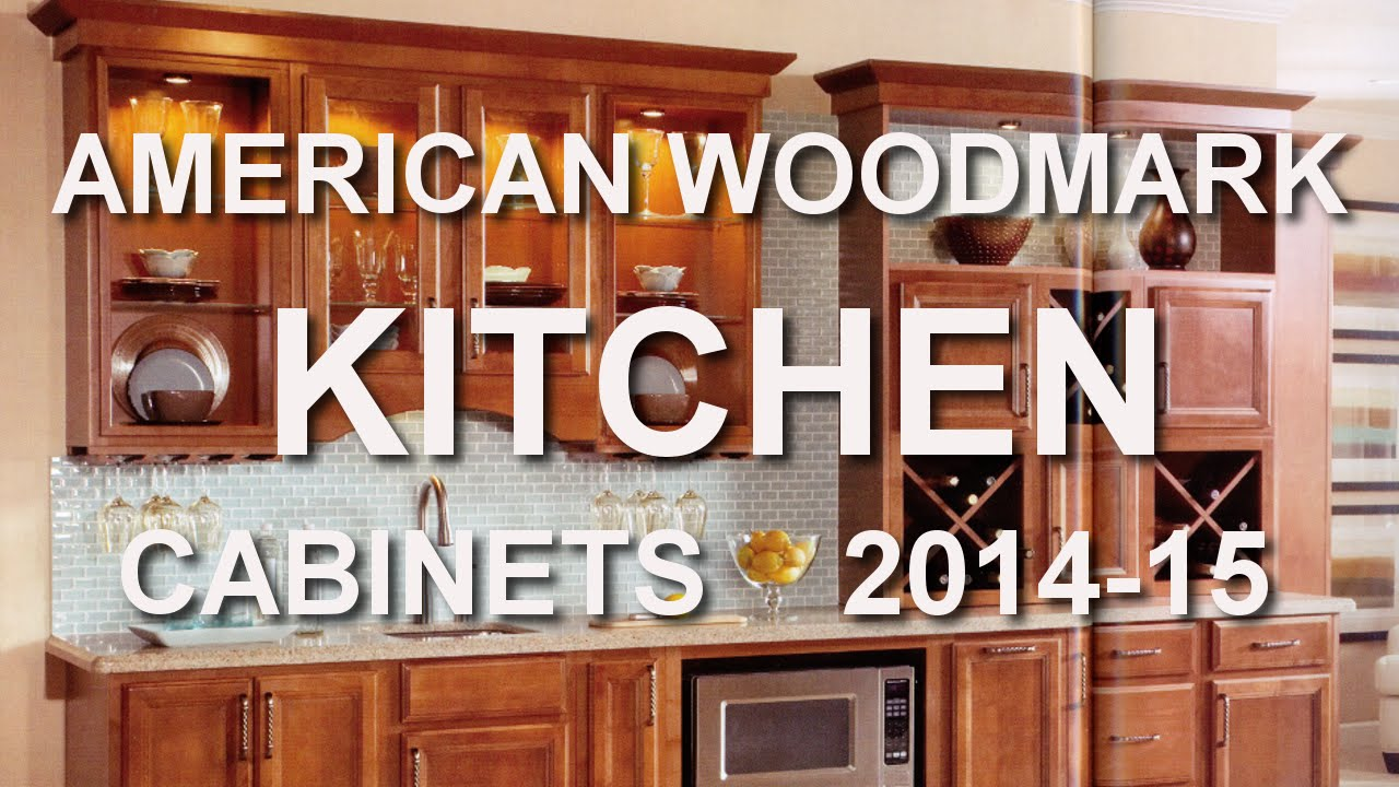AMERICAN WOODMARK Kitchen Cabinet Catalog 2014 15 At HOME DEPOT   YouTube