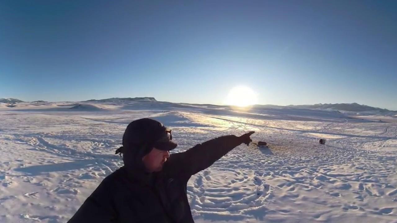 City Walks: 4K 360 Fusion - Park County Montana Farm walk on COLD snowy day