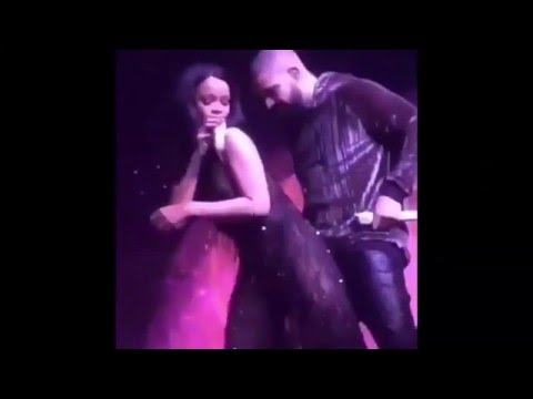 Rihanna Twerking on Drake and Performing the Hit Single