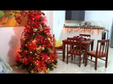 id?ias decorar ?rvore de Natal vermelho 2017 - YouTube