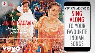 Aaj Hai Sagaai - Pyaar To Hona Hi Tha|Official Bollywood Lyrics|Alka Yagnik|Abhijeet