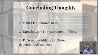 12.  The Self:  British Empiricism & The Problem of Identity Thumbnail