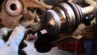 How to replace the axle on a 2001-2006  Hyundai Elantra