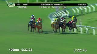 Vidéo de la course PMU PREMIO CLASICO GENERAL VIAMONTE