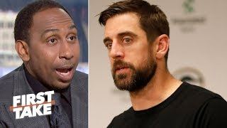 The Packers are always Super Bowl contenders with Aaron Rodgers – Stephen A.   First Take