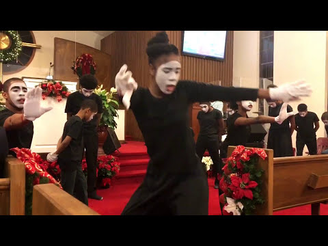 Israel Houghton - Take The Limits Off / No Limits (Enlarge My Territory)   MIME DANCE