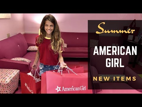 American Girl Store Trip For Summer Collection