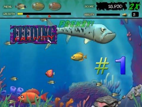 Feeding Frenzy #1 (Stage 1-16) - ปลาใหญ่กินปลาเล็ก กับภัยอันตรายในท้องทะเล