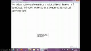 Baixar Game of Throne 1º a 3º Temporada Dublado Torrent