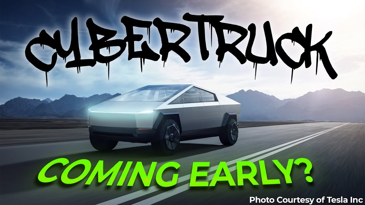 Evidence is Piling Up That Tesla's Cybertruck Could Be Coming Early