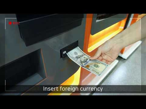 【I♥COIN】Korea's first currency exchange service