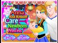 Anna and Kristoff Have A Baby Game - Girl Games