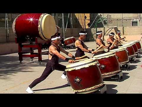 Japanese Drums by Shumei Taiko - NEW VERSION
