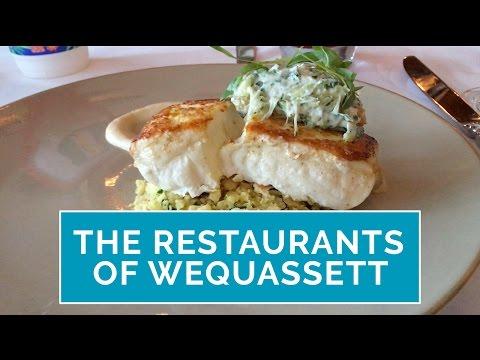 Wequassett Restaurant Guide to Dining at Wequassett Resort & Golf Club