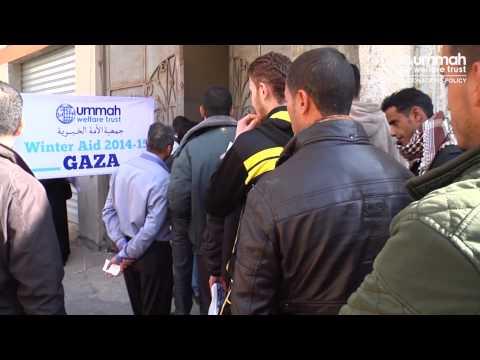 Winter Aid in Gaza 2014-15