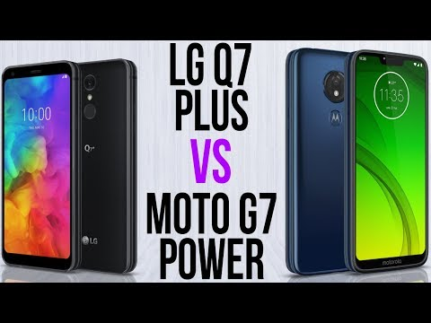 LG Q7 Plus Vs Moto G7 Power (Comparativo)
