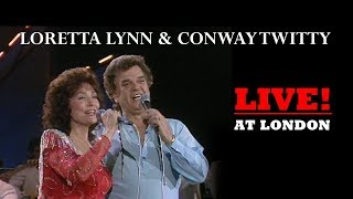 Loretta Lynn & Conway Twitty Special, Live at Wembley, London [Sing Country Part 09 - 1985]