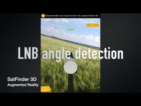 SatFinder 3D Augmented Reality app for iOS and Android