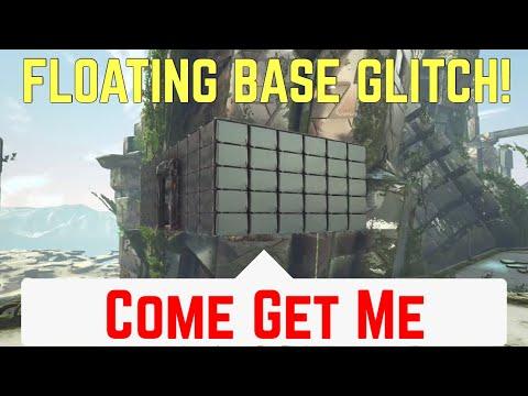 ARK FLOATING BASE GLITCH! HOW TO BUILD FLOATING BASES TUTORIAL!! - Ark Survival Evolved