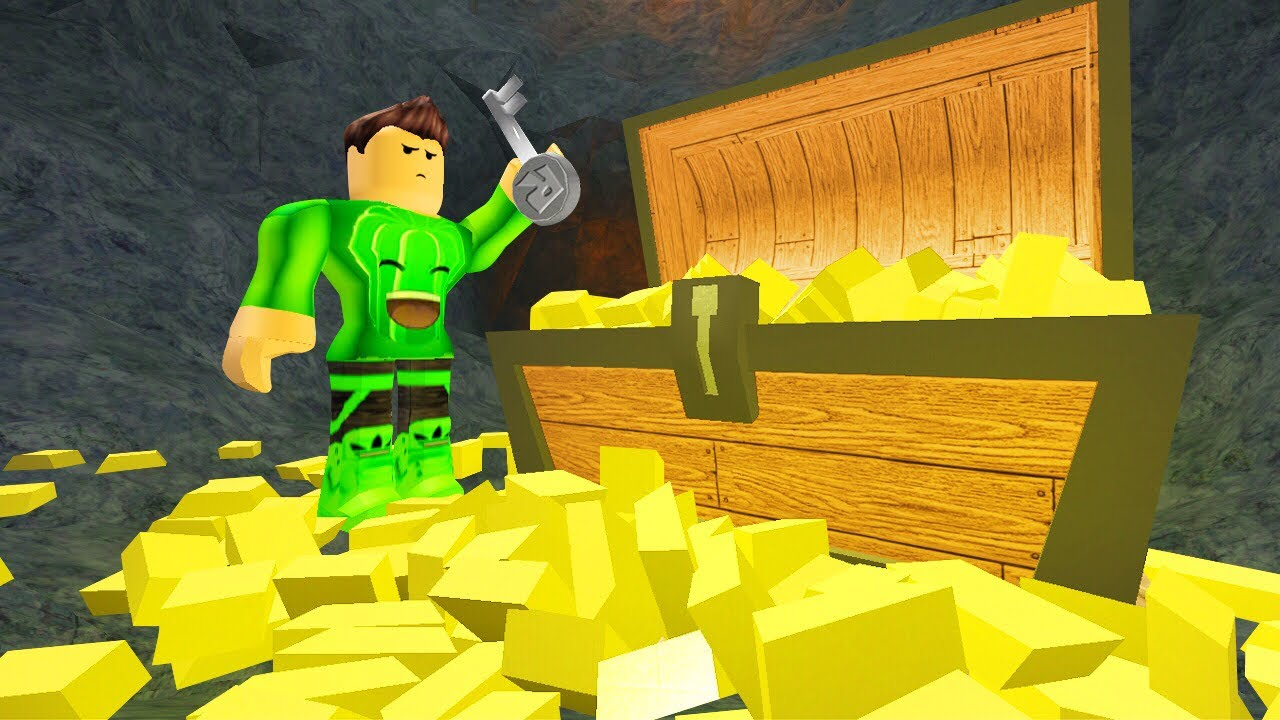 STEALING $500,000,000 WORTH OF GOLD! (Roblox)