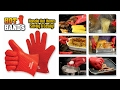 Hot hands kitchen gloves to handle all the hot stuff mp3