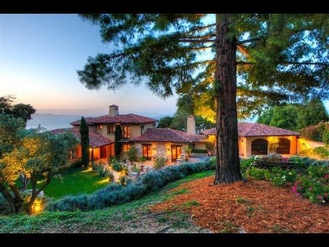 Romantic Waterfront Villa in Tiburon, California