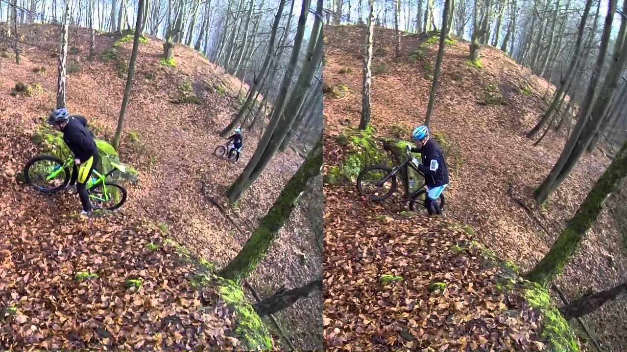 MTB route Bad Bentheim - YouTube