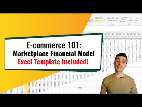 The ULTIMATE Marketplace Financial Model | Build From Scratch