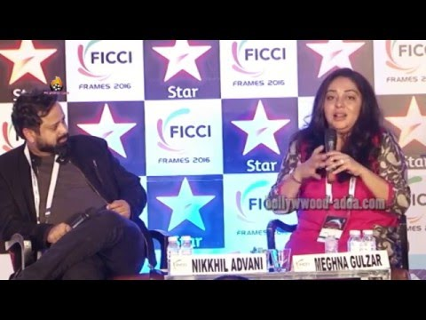 Meghna Gulzar & Nikhil Advani Of FICCI Frames 2016