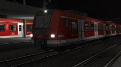 MPTV Quarantine Charity Stream - S6 Frankfurt - Friedberg - DB 423 On S-Bahn Rhein Main