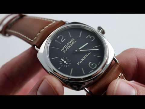 Panerai Radiomir Black Seal PAM 183 H-Series Watch Review