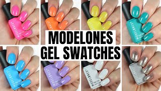 MODELONES Gel Polish Swatch and Review | Elizabeth Anne