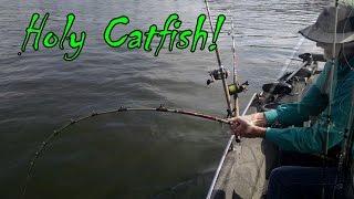 Biggest Catfish He Has Ever Caught!