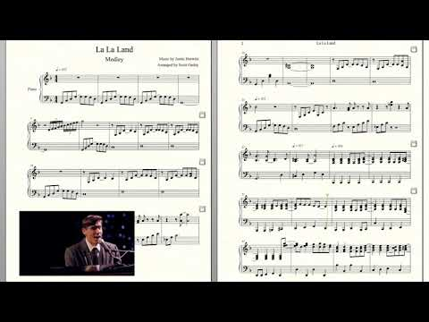 LA LA LAND Medley - Piano Sheet Music (Lord & Lady)