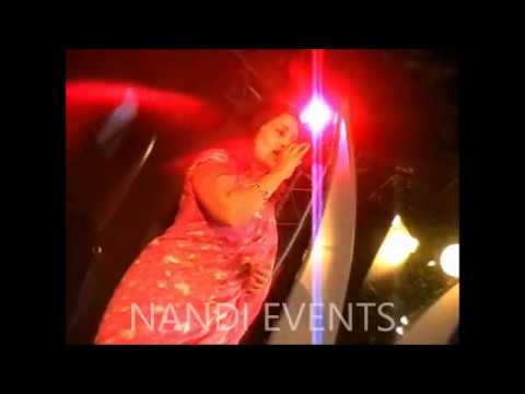 Beautiful singer  simmi   with awesome performance nandi events