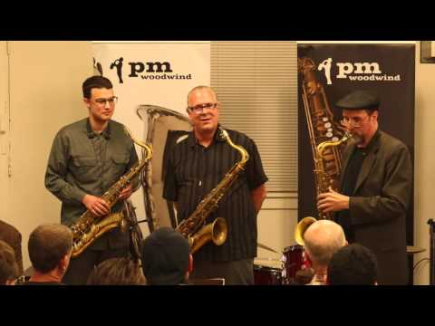 Doug Webb and Greg Fishman play These Things at PM Woodwind