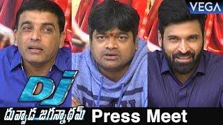 DJ Duvvada Jagannadham Movie Press Meet | Latest Telugu Movie 2017