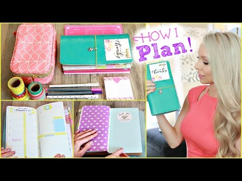 How I Stay Organized ♡ Inside My Planner