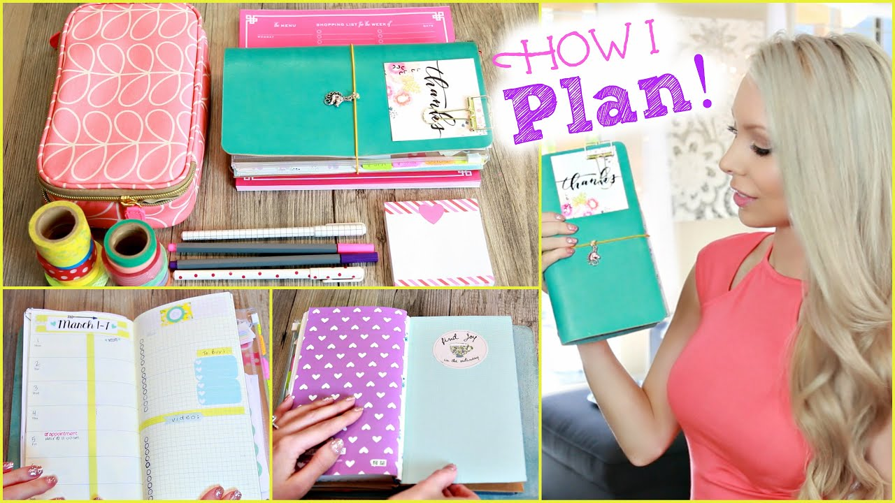 How I Stay Organized ™� Inside My Planner Youtube