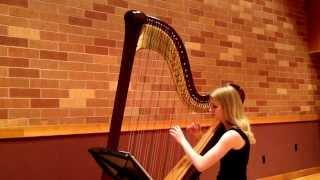 Mary Raunikar plays some charming harp pieces