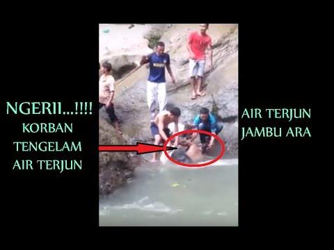 Korban Tenggelam Air Terjun Jambu Ara selama 2 hari .. DI TEMUKAN