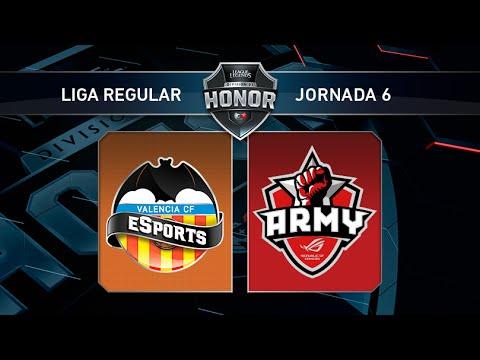 Valencia CF eSports vs ASUS ROG Army - #LoLHonor6 - Mapa 1 - Jornada 6 - T11