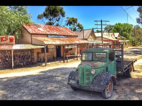 Old Abandoned Pioneer Town South Australia