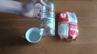 Как сделать карамель,вода+сахар.Самый простой рецепт.