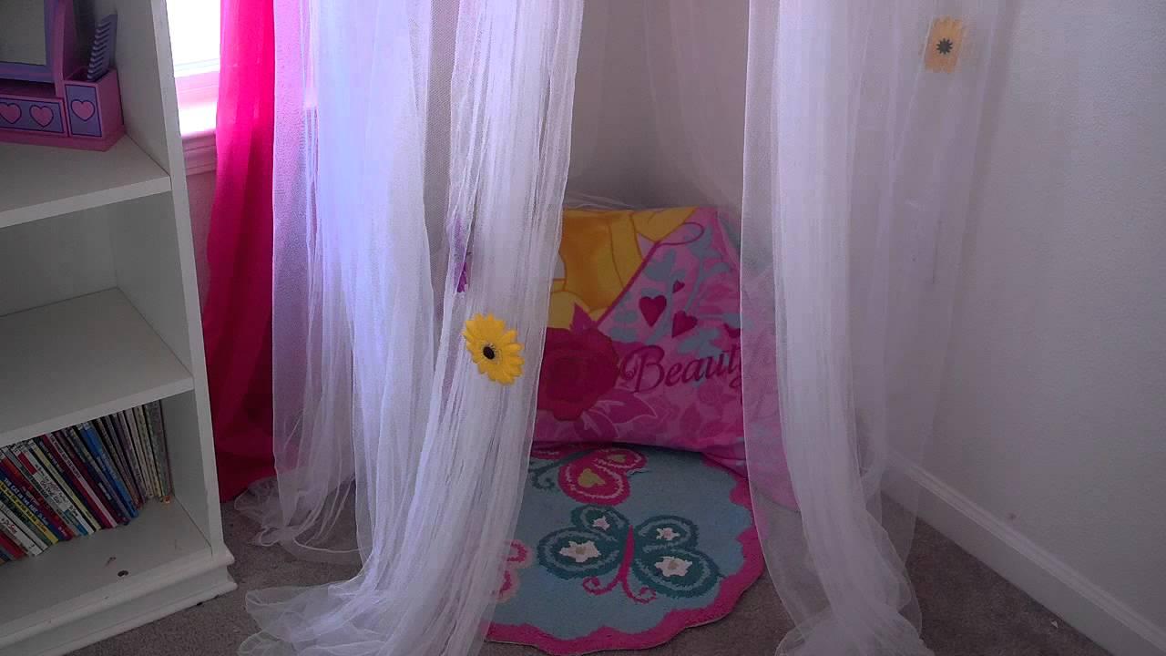 Diy Little Girl Bed Canopy