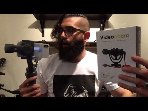 DJI Osmo Mobile 2 Microphone Setup! - Live
