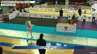 2018 127 F F Individual Katowice POL WC T64 16 BLUE BRAUN GER vs ERRIGO ITA