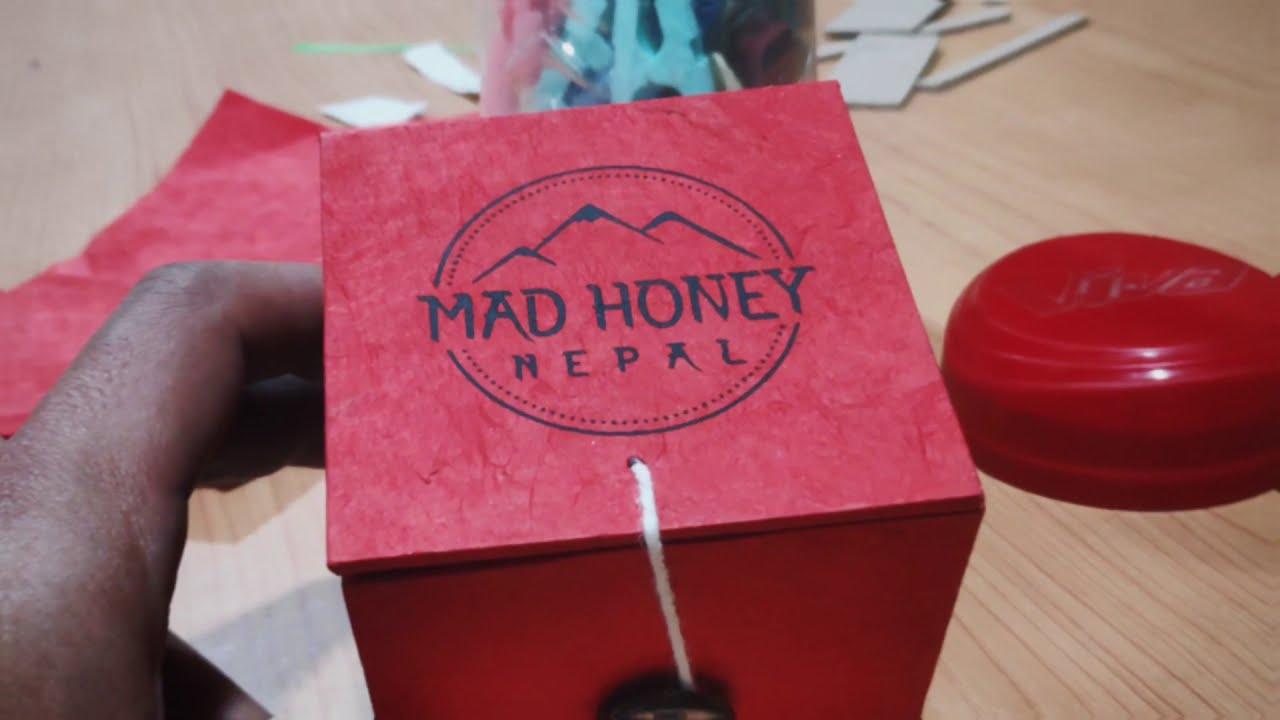 Hand Making Mad Honey Nepal Boxes