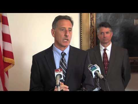 Vermont Governor Peter Shumlin - Press Conference April 9, 2014